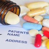 pictorial aid, photographs, medications, dosing schedules