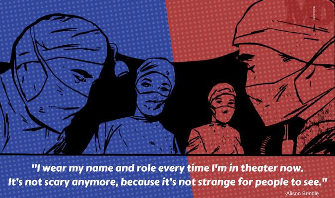 Theatre Cap Challenge, my name is, #TheatreCapChallenge, medical errors, surgical caps