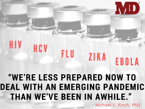 vaccines, HIV, flu, zika, ebola